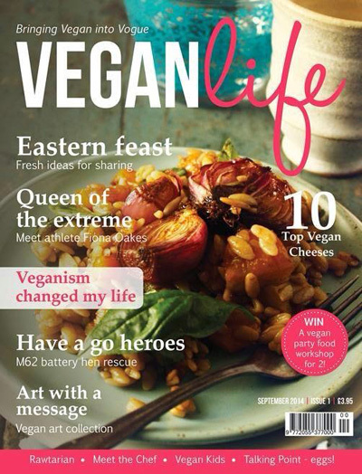Bringing Vegan into Vogue & The Launch of Vegan Life Magazine