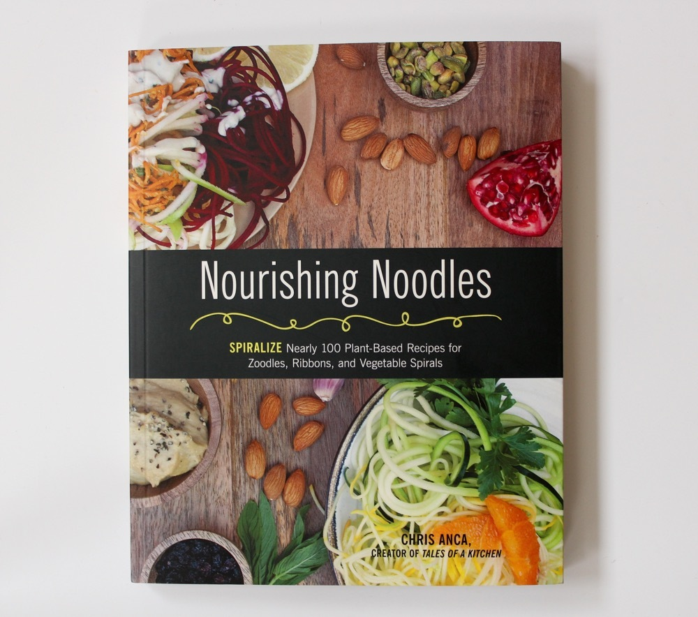 Nourishing Noodles & Recipe for Carrot & Beet Noodles with Ginger Sesame Dressing