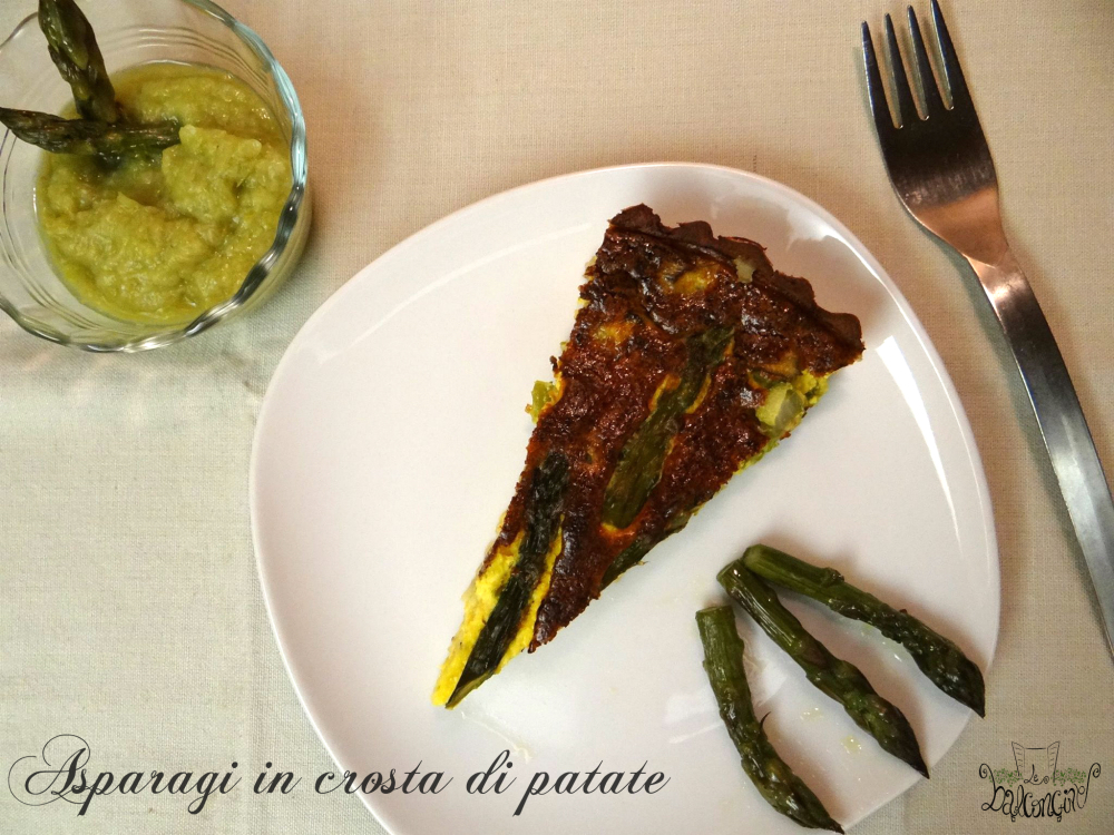 Asparagi in crosta di patate