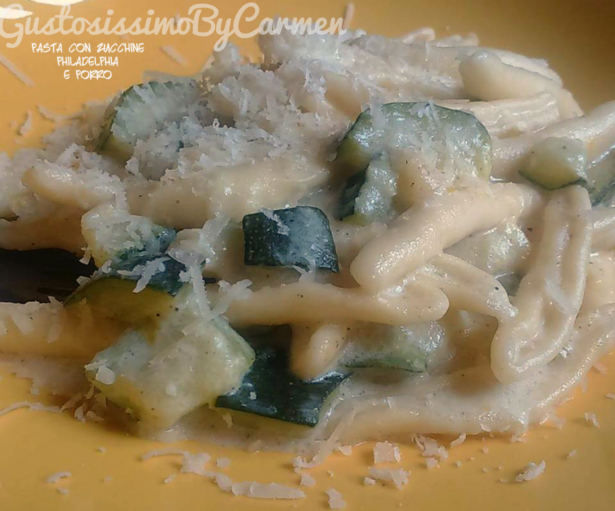 Pasta zucchine philadelphia Magic cooker e no