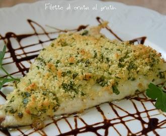 Ricette di orata gratinata al forno con patate mytaste - Filetto di orata al forno su letto di patate ...