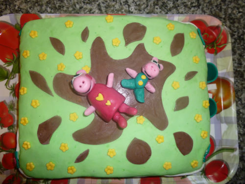 Torta peppa pig in PDZ