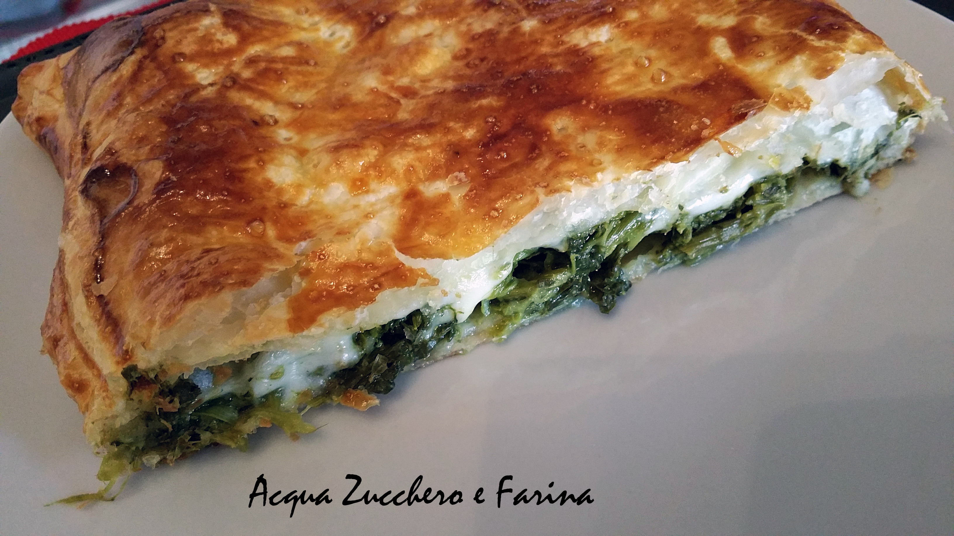 Pizza Rustica Light Broccoletti e Mozzarella