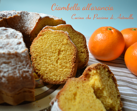 Ciambella all arancia