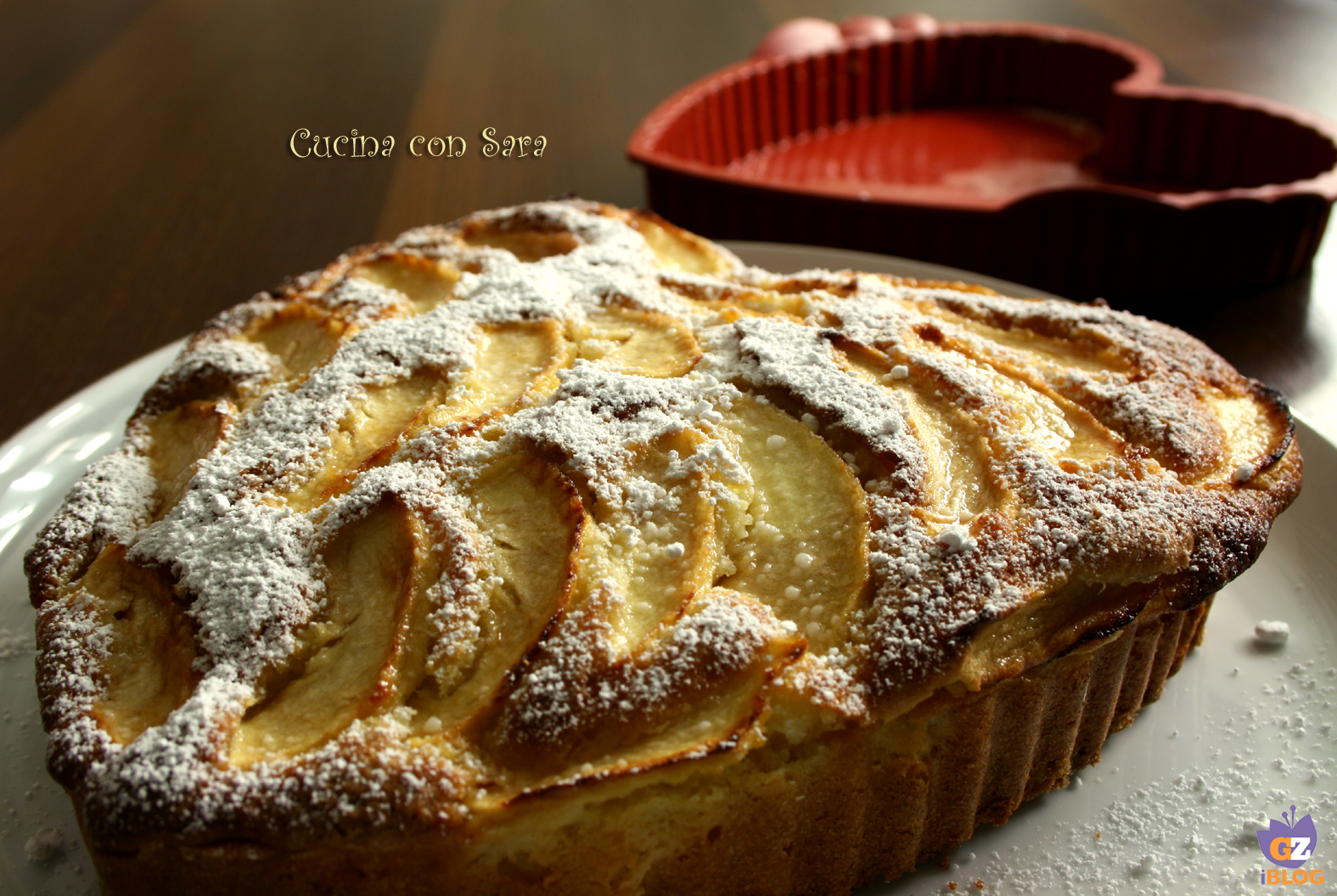 Torta mele e yogurt