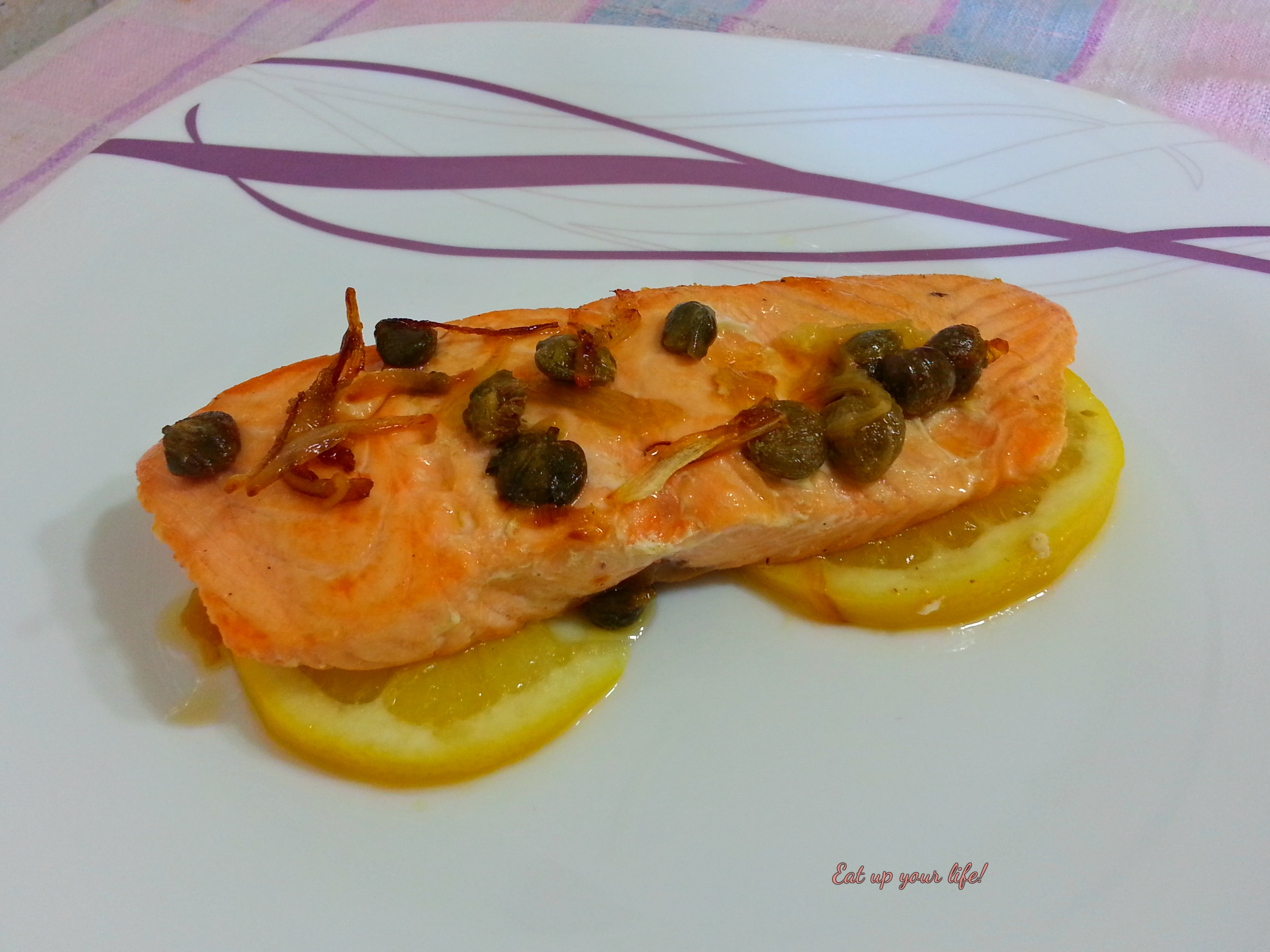 Filetti di salmone all'isolana
