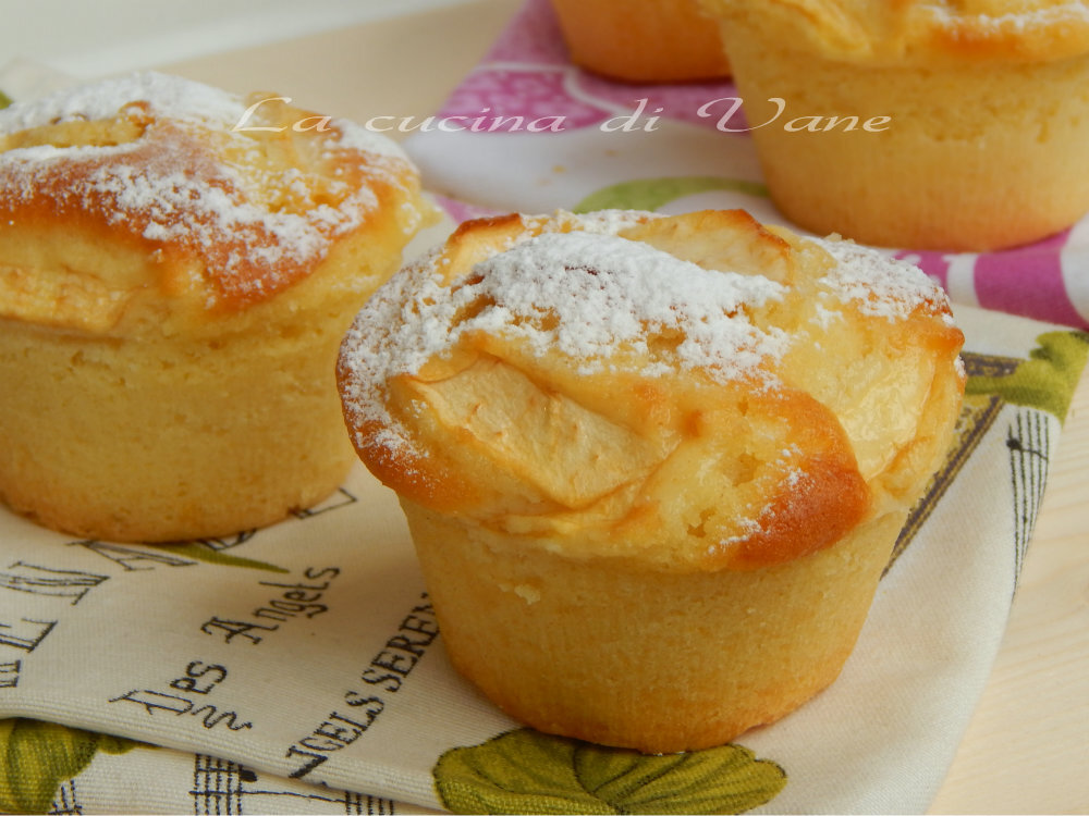 Muffin sofficissimi yogurt e mele