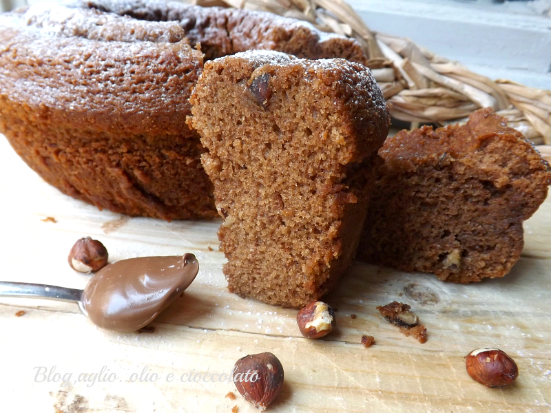 CIAMBELLONE ALL'ACQUA CON NUTELLA