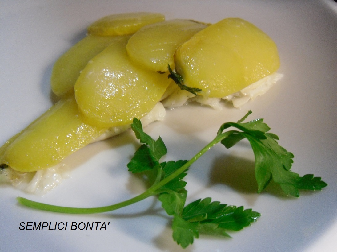 ROMBO IN CROSTA DI PATATE