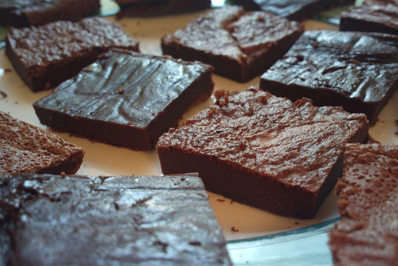 Two ingredient Nutella Brownies – Brownies alla Nutella senza glutine