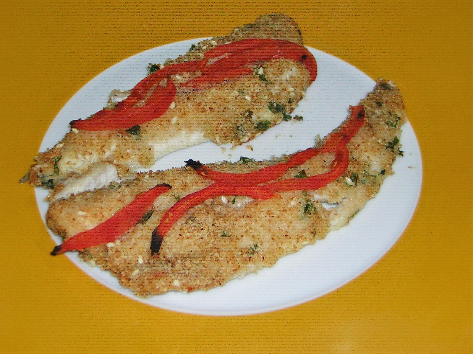 Filetti di gallinella al forno