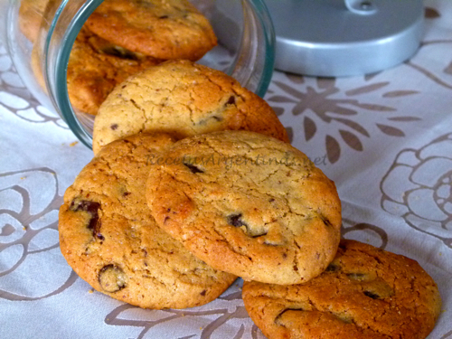 Galletas (Cookies) con chips de chocolate