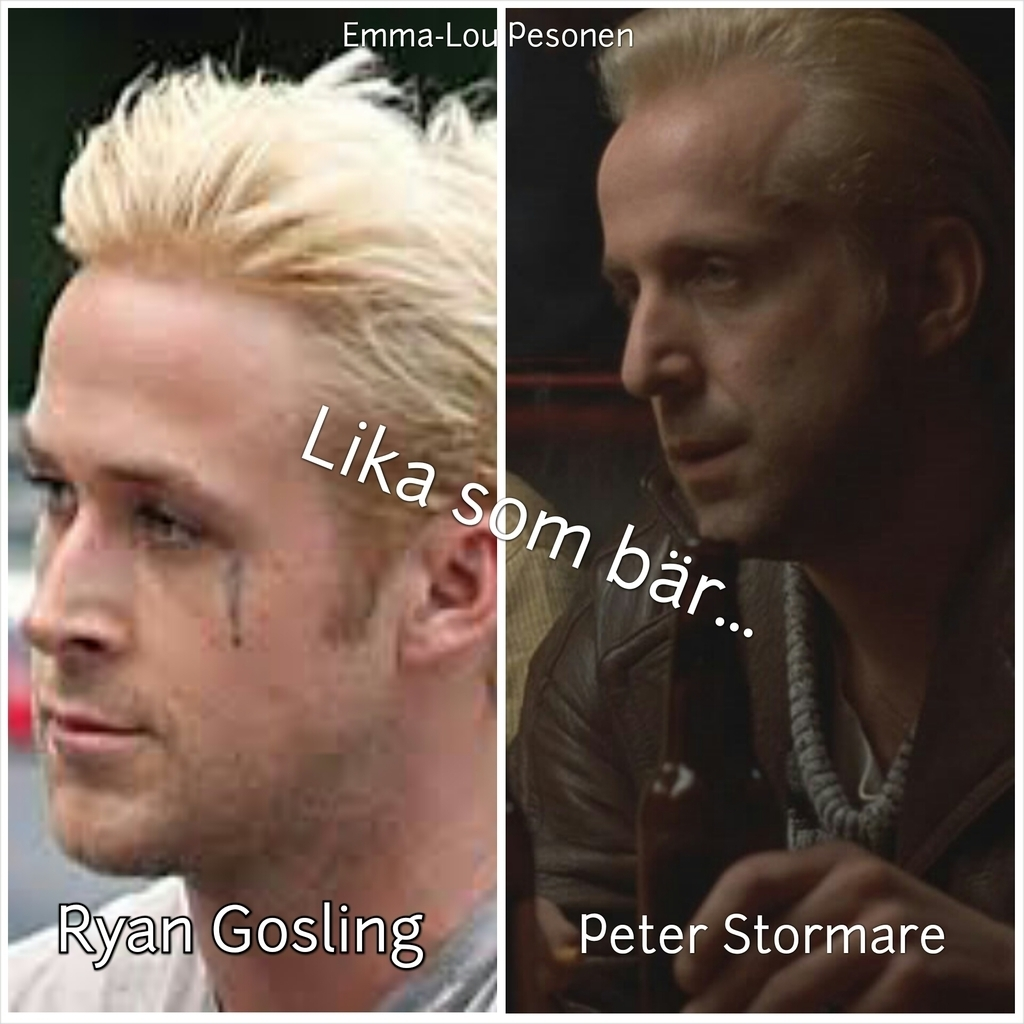 Kändis look-a-like: Peter Stormare vs Ryan Gosling