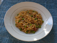 Pearl Barley 'Risotto' with Chorizo and Petit Pois
