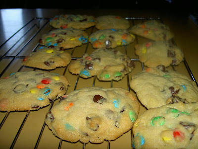 For and By Kids - Mini M&Ms/Chocolate Chip Cookies