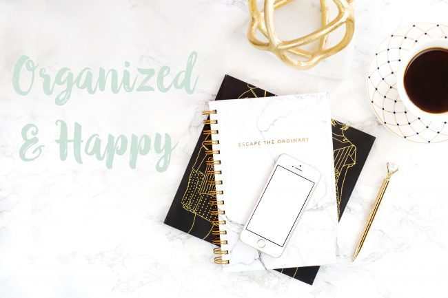Splitter ny blogg – Organized & Happy
