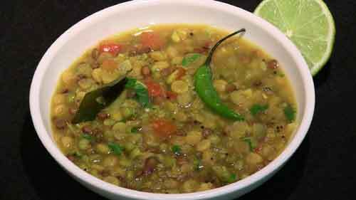 Mixed Daal with Amaranth Seeds (Rajgira) Recipe