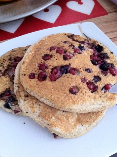 Low carb, low fat & very delicious - Protein Pancakes