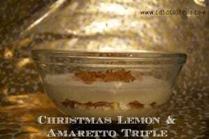 italian trifle with meringue