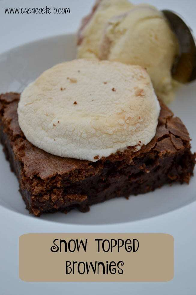 Snow Topped Brownies – Secret Recipe Club