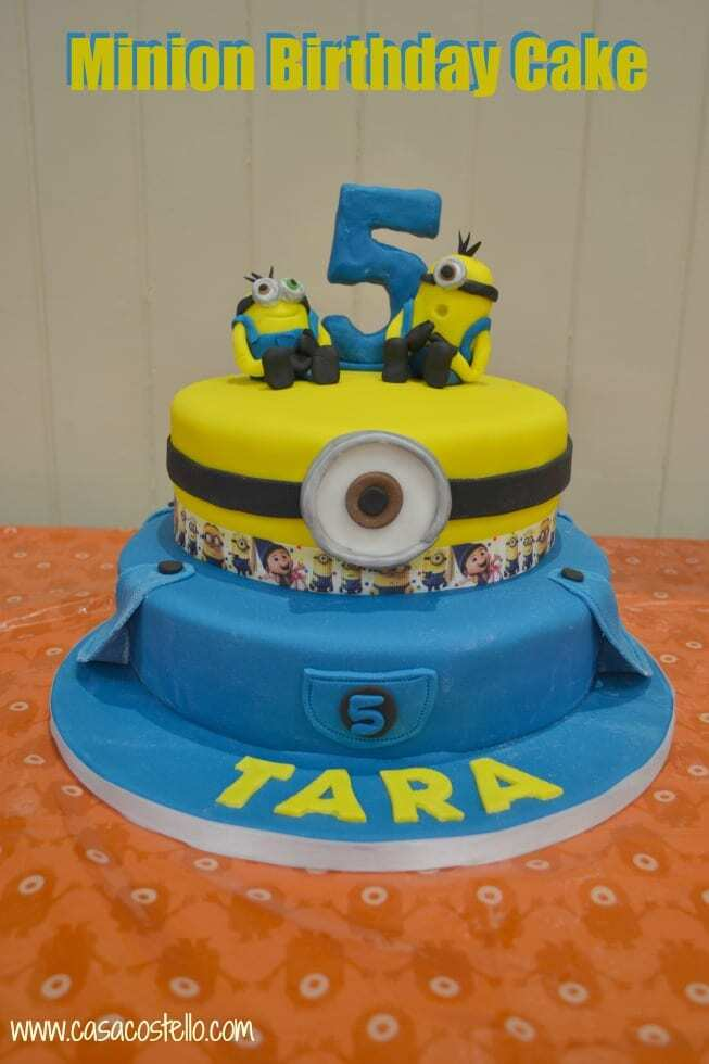 Minion Birthday Cake – Bake of the Week