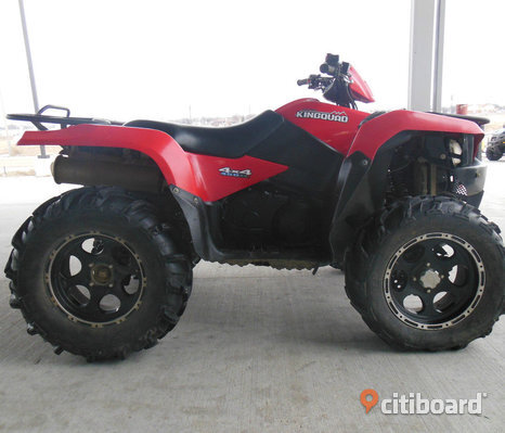 ATV Suzuki King Quad 450 AXi från 2009