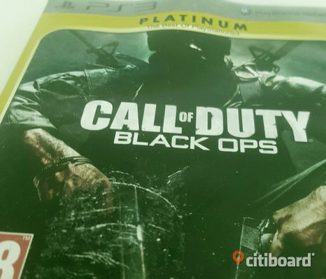 """Cod black ops"" ps3"