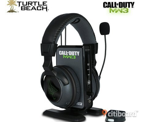 Headset Turtle Beach Call Of Duty MW3 Ear Force Delta