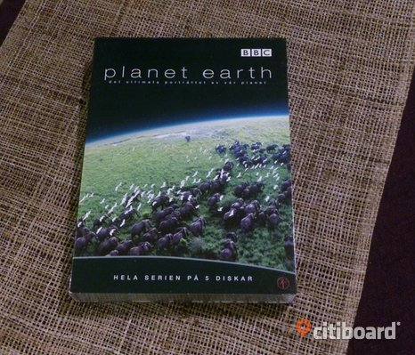 Planet Earth- dvd box säljes billigt