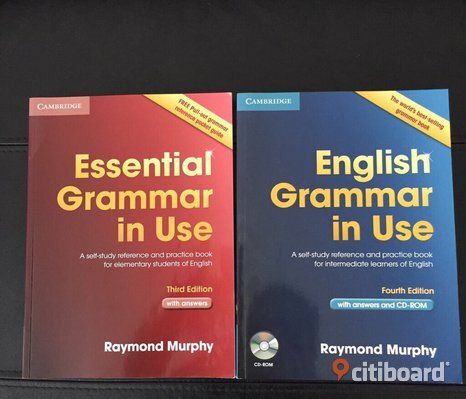 Essential grammar in use and English grammar in use