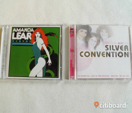 Amanda Lear + Silver Convention. 2 st Cd's.