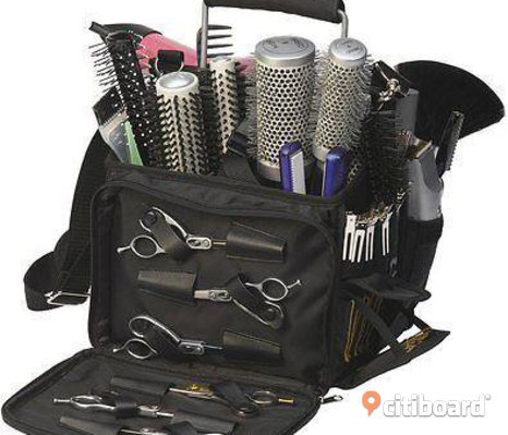 Hairdressers MULTI STORAGE Bag Eqipment Tool Case With Lots Of Compartments
