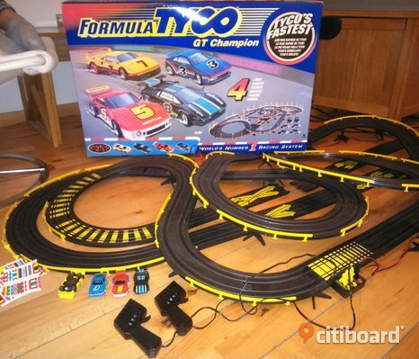 Bilbana Tyco GT Champion Car racing set