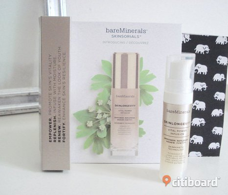 Bare Minerals - SkinLongevity Vital Power Infusion Serum Booster! Ny!