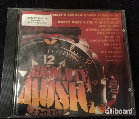 Cd Absolute Music - 12