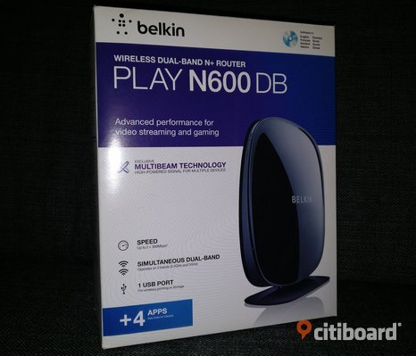 Play N600 DB Wireless Dual-Band N+ Router