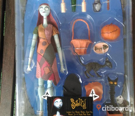Nightmare Before Christmas Sally Series 1  Figure Neca Reel Toys