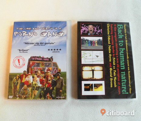Porno Gang + Back To Human Nature. 2 st dvd's.