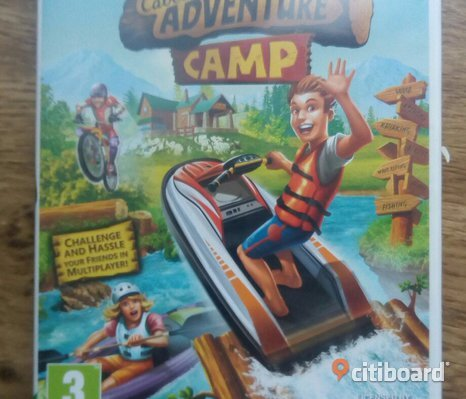 Wii-spel, Cabela's adventure Camp