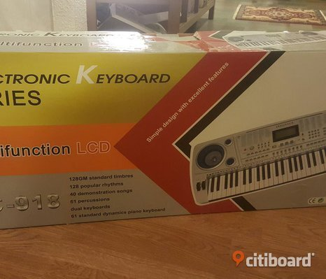 Electronic keyboard series