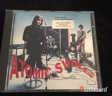 Cd Atomic swing - A car crash in the blue