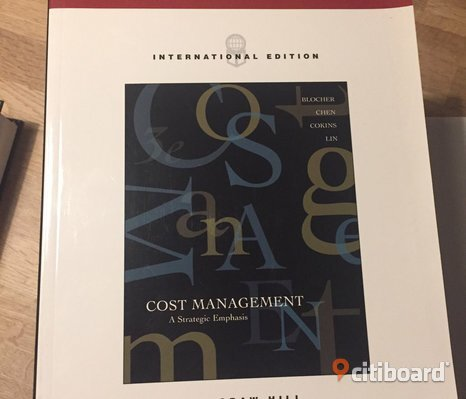 Cost management (Mcgraw/Hill) 2005