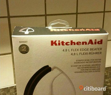 Kitchen aid visp med spatel