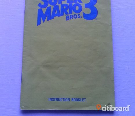 SuperMarioBros 3 manual