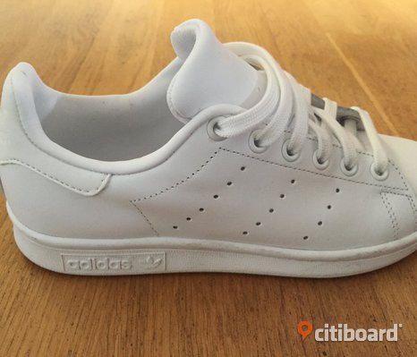 Adidas sko, vita Stan Smith stl. 36