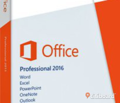 Office 2016 Professional  svensk DVD + aktiverings kod ! Billigt