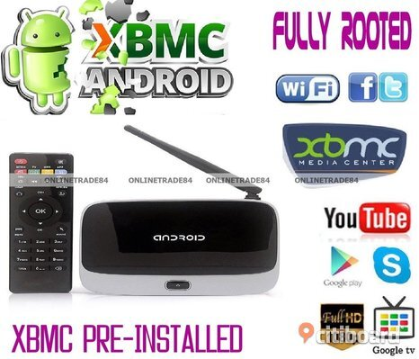 Smart tv Box arabiska, Engelska