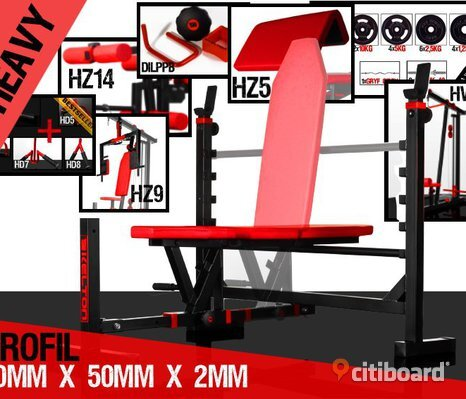 GYM MASKIN SERVICE GARAGE GYM  + GRATIS 3000 KG MUSCLE MASS MARKER