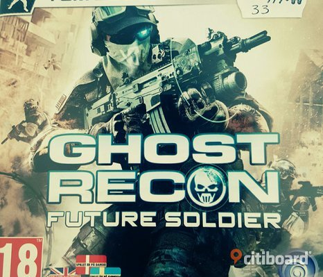 """Ghost recon future soldier"" ps3"
