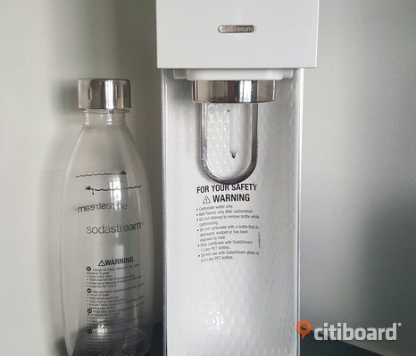 SodaStream Source Kolsyremaskin (vit/​metall)